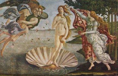 「ヴィーナスの誕生」(1485年頃、ボッティチェリ画)。.jpg